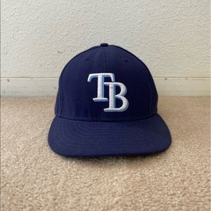 Tampa Bay Rays New Era On-Field 59FIFTY Fitted Hat